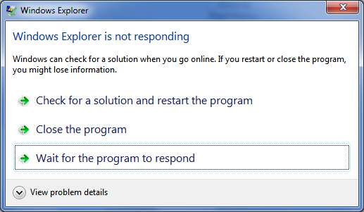 How To Kill A Program Which Is Quot Not Responding Quot And